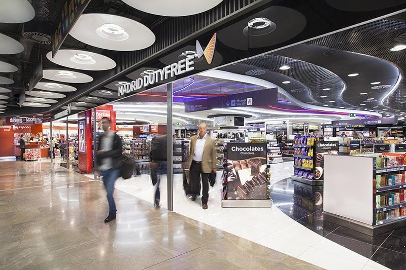 Aeropuerto de Madrid - tiendas