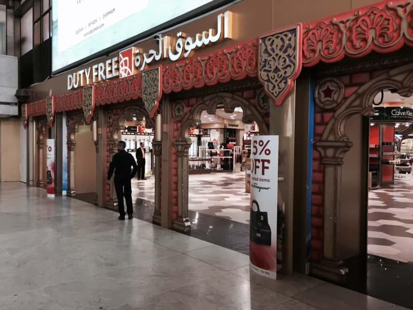 Toma de datos en diferentes espacios de aeropuertos de Arabia Saudí.
