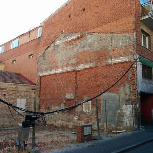 Demolición Calle San Enrique