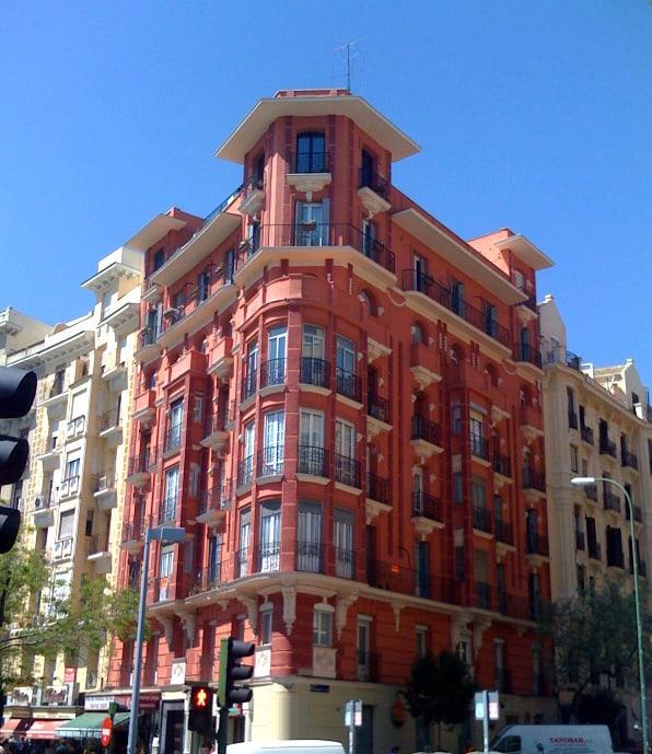 ITE Edificio calle manuel Becerra