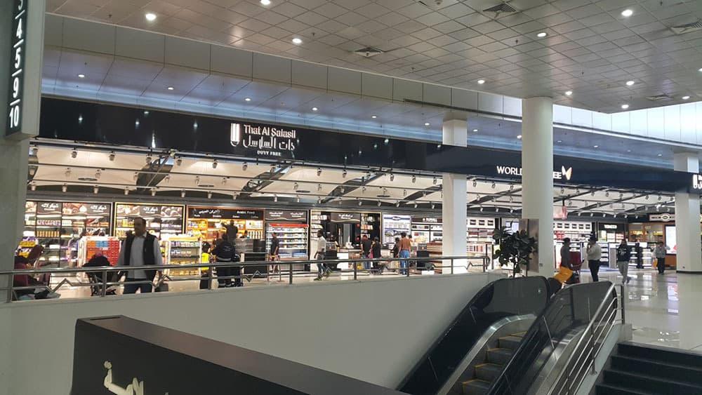"""Implantación de Tienda """"The Shop"""" en el Aeropuerto de Kuwait"""