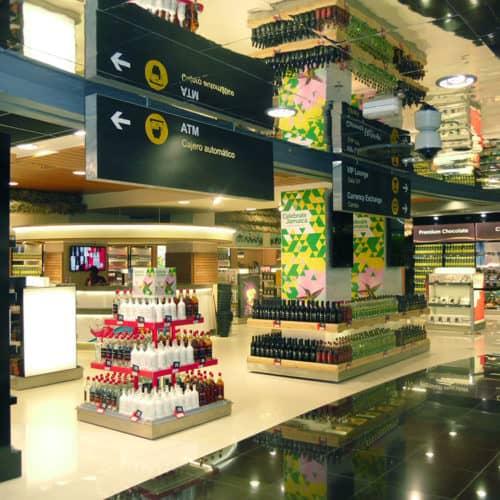 Project Management JAMAICA airport shop