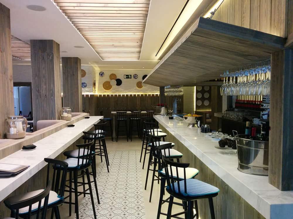 Proyecto técnico para restaurante en Plaza Santa Ana