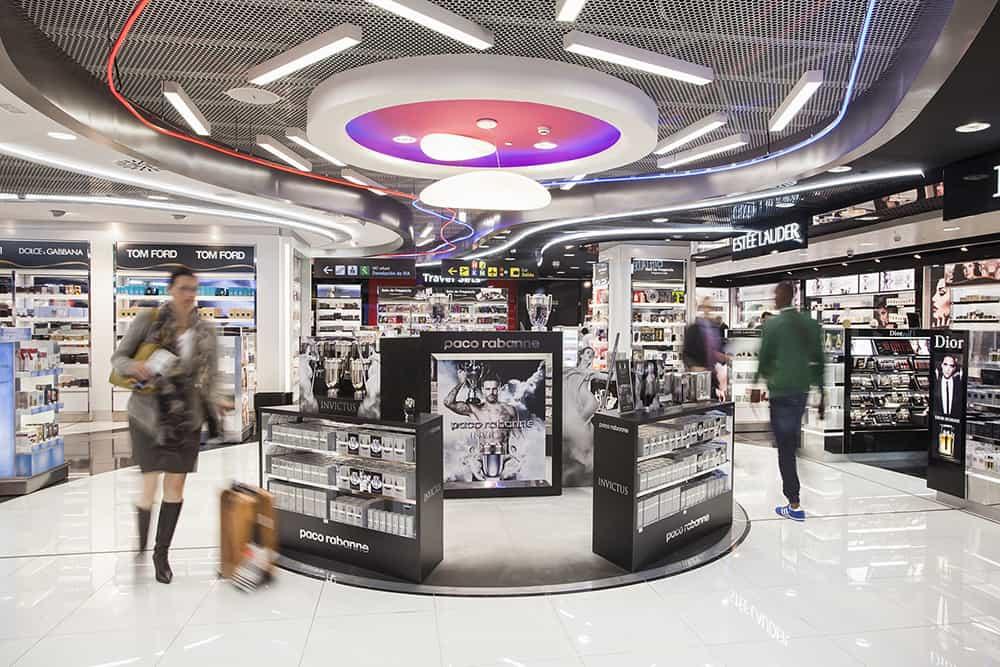 Aeropuerto de Madrid. project management de tiendas