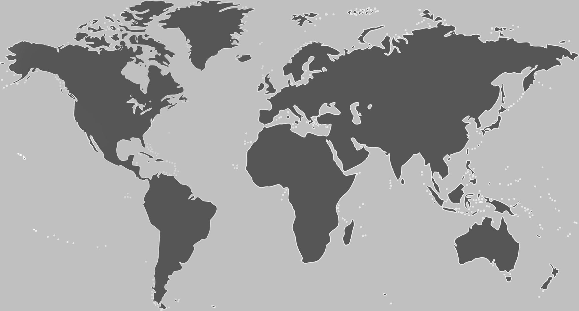 Mapa proyectos internacionales exico