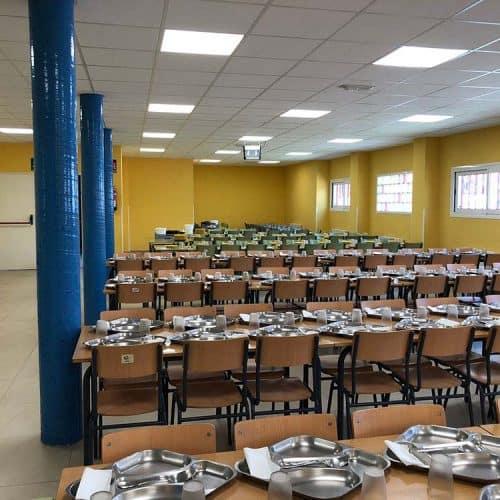 Asesoría técnica para la ejecución de comedores en un colegio público perteneciente al Ayuntamiento