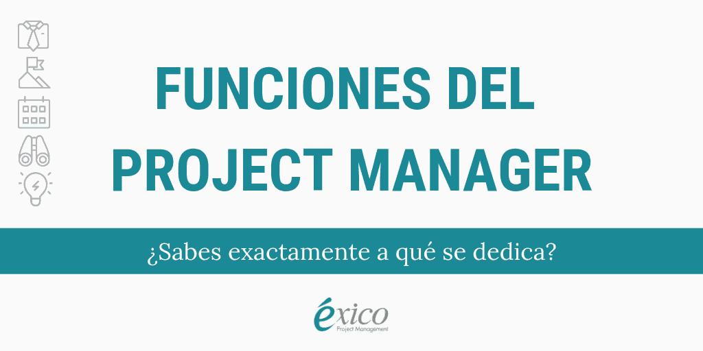 Infografía: Funciones del Project Manager