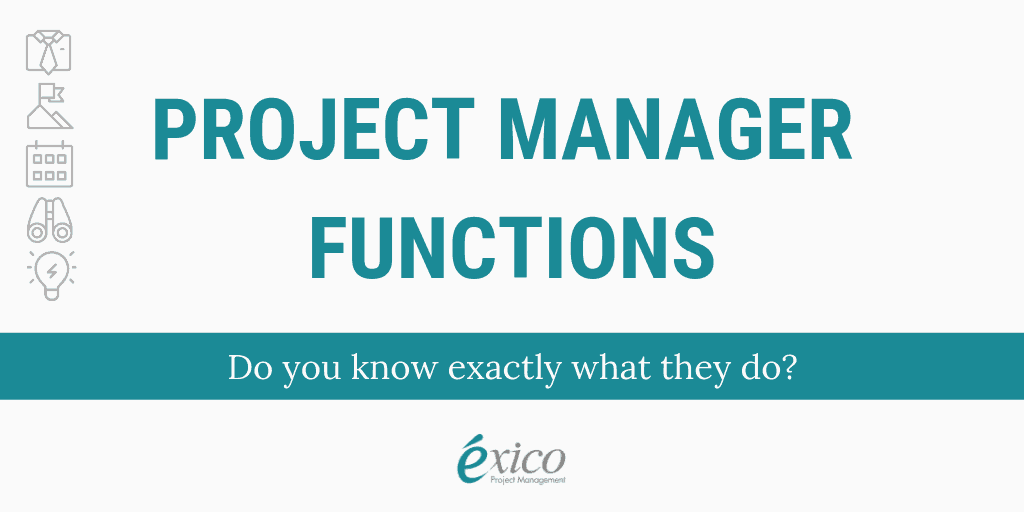 Infographic: Project Manager Functions