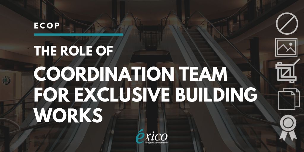 Infographic: The role of Coordination Team for Exclusive Building Works (ECOP)