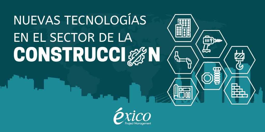 Infografía: Nuevas tecnologías en el sector de la construcción